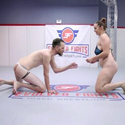 Fantastic sensual wrestling - Evolved Fights – Hardest sex boxers Bella Rossi and Chad Diamond