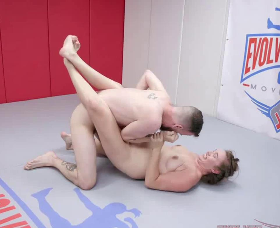Sex battle - Evolved Fights – Chad Diamond and Stephie Staar